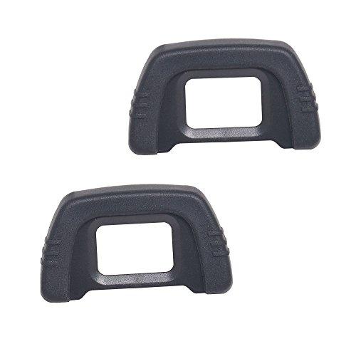 Bestshoot Camera Eyecup Eyepiece DK-21 22MM Replacement Viewfinder Protector for Nikon DK21 D7000 D600 D80 D90 /D40 D50 D70S D90 D200 D300 (DK-21 Replacement)