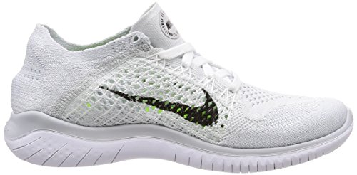 Multicolore Running 2018 001 Chaussures White Black RN Flyknit Orange Total Femme de Nike Free Twq8ZZ