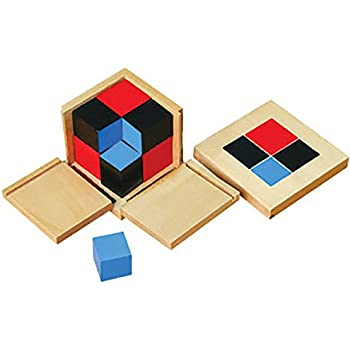 Amazon.com: Montessori Geometric Solids With Stands, Bases, and ...