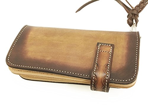 Geronimo Long Geronimo Leather Men's G1651C02 Wallet Men's Brown Leather 4XBqn7vE