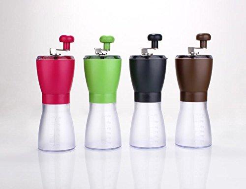 'Tay' - Manual Adjustable Coffee Grinder (Black) Molmo