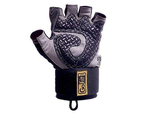 GoFit Diamond-Tac Wrist Wrap Weightlifting Glove