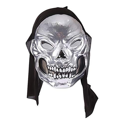 2019 Halloween LED Light Up Mask para Festival Cosplay Disfraz de ...