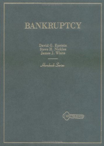 Bankruptcy (Hornbook Series Student Edition)