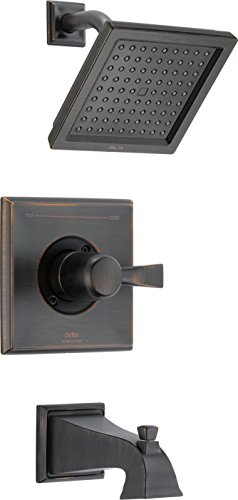 Delta Faucet T14451-RB-WE Dryden Monitor(R) 14 Series Tub and Shower Trim, Venetian Bronze, ()