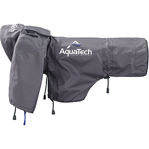 AquaTech Sport Shield Large Rain Cover for Cameras and Lenses, Gray by AquaTech