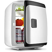HM&DX Mini Fridge Cooler Warmer,Car Home Portable Compact Mini Refrigerator Freezer Quiet Energy Efficient Beverage Fridge-A 13L