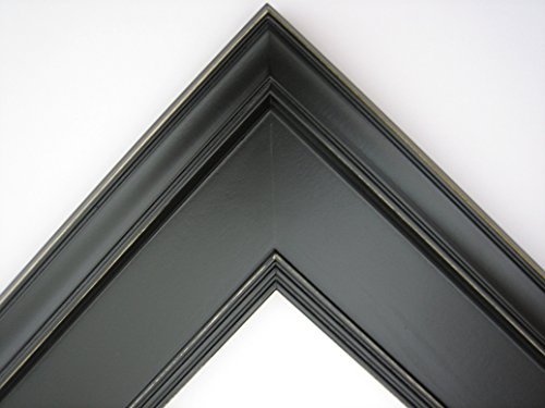 11x14 Picture Photo Frame / Plein Air Style / Solid Black