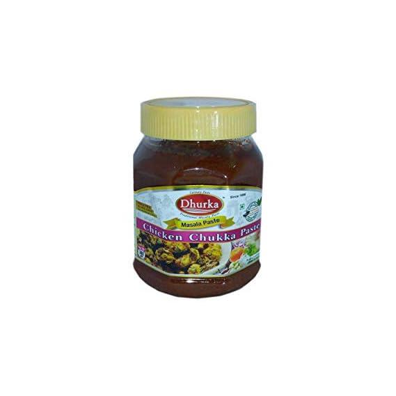 Dhurka Ready-to-Cook Chicken (Chukka) Gravy Masala Paste - 360g