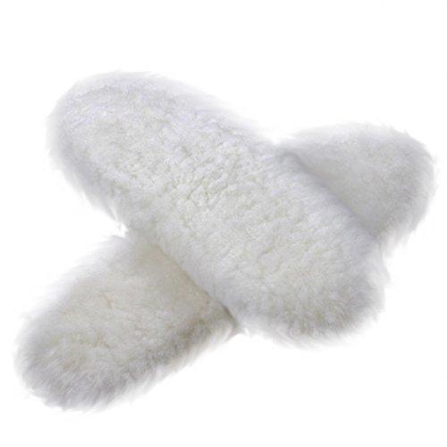 HappyStep® Shearling Sheepskin Winter Insoles, Material: Sheepskin - Wool - Fleece, Size 9, Women by Happystep (Image #3)