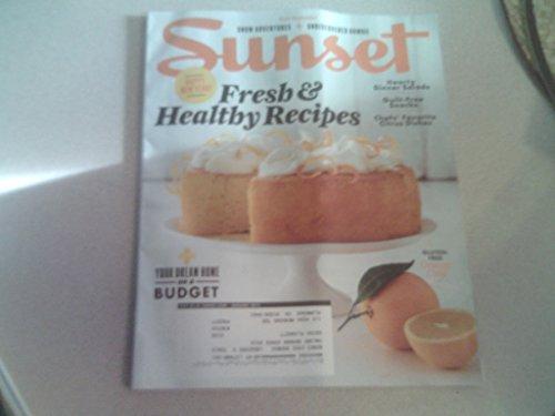 Sunset magazine, January 2015-Fresh & Healthy Recipes