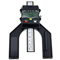 Digital Self Standing Depth Gauge w/ Magnetic Feet is use for hand routers and routers tables.Suitable for horizontal and vertical measuring.It includes a rule depth gauge with locking screw to set the height of router cutters and saw blades ...