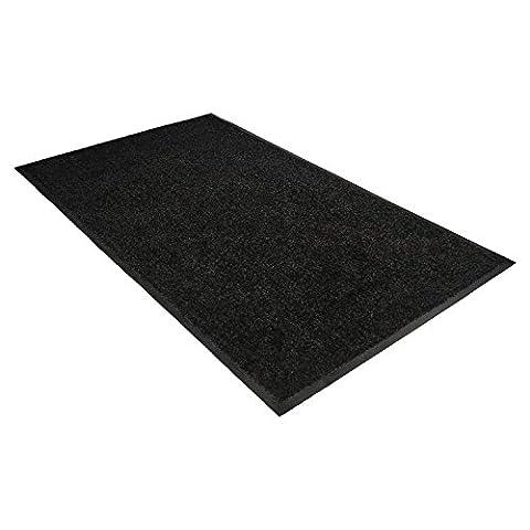 Guardian 94030535 Platinum Series Indoor Wiper Mat Nylon/Polypropylene 36 x 60 Black, 36 x 60, (Carpet Static)