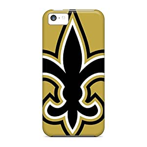 Shock-Absorbing Hard Cell-phone Cases For Iphone 5c (UvT5533MSKW) Allow Personal Design High-definition New Orleans Saints Series