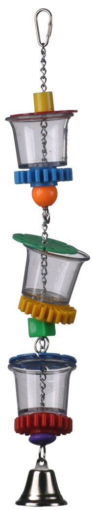 Super Bird Creations 18 by 2-1/2-Inch Bottom's Up Bird Toy, Large