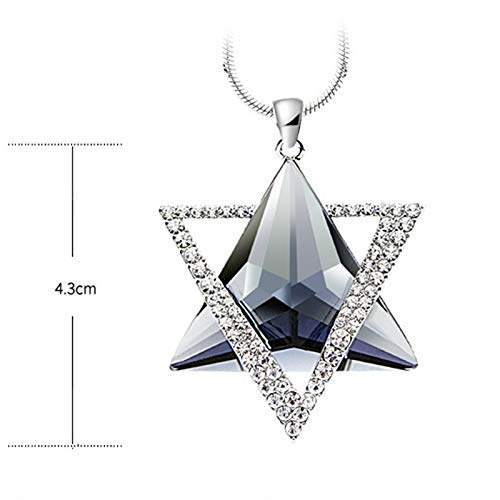 Nattaphol Luxury Rhinestone Necklace Women David Star Pendants Necklace Gifts Crystal Sweater ChainsSimple Romantic Women Chain Necklace Rated 4.5/5 Based on 22 Customer Reviews 4.5 (22 Votes)
