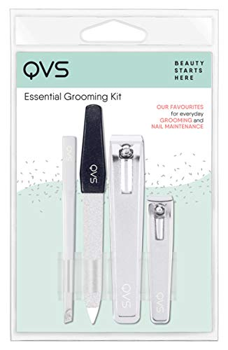 Qvs Four Piece Essential Nail Grooming Kit, 4.8 Ounce from QVS