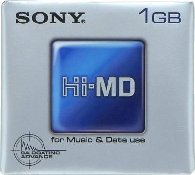 Sony Hi-md Minidisc Blank Mini Disc 1gb Hmd1ga (1 Disc) by Sony