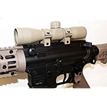 TRINITY Paintball 4x32 Sniper Scope TAN For TIBERIUS ARMS PAINTBALL MARKERS accessories paintball parts, Woodsball, Tactical paintball.