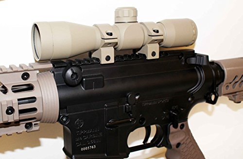 TRINITY Paintball 4x32 Sniper Scope TAN For BT TM15 accessories paintball parts, Woodsball, Tactical -