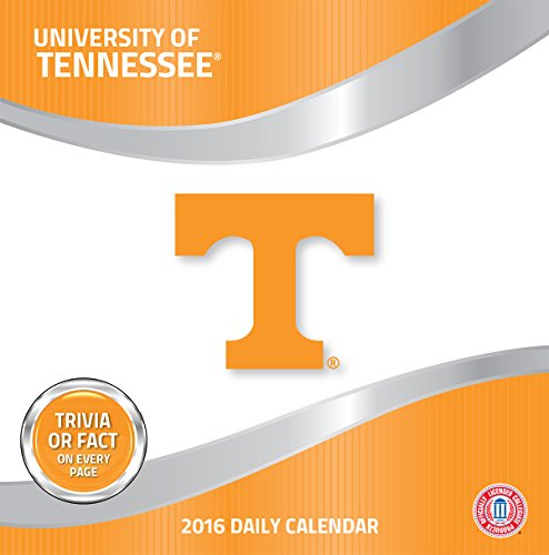 Turner Tennessee Volunteers 2016 Box Calendar, January-December (8051383)