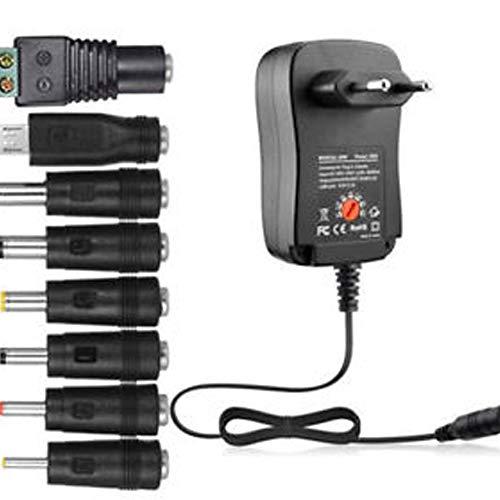 Peanutaod 30W Netzteil Universal Adapter AC//DC 3V 12V 1,5A Einstellbar 4,5V 9V 6V 7,5V