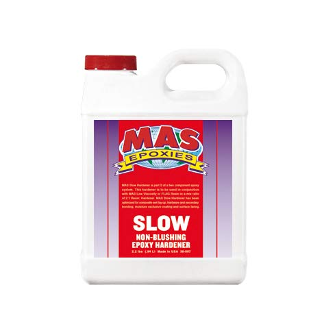 MAS Slow No Blush Hardener - Quart (Slow No Blush Catalyst)