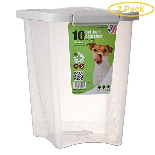 Van Ness Pet Food Container (2 Pack) by Van Ness