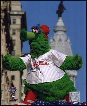 The Philly Phanatic 2008 World Series Parade Art Poster PRINT Unknown (Philly Phanatic World Series)