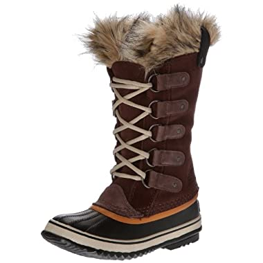 Sorel Women's Joan Of Arctic Tobacco/Sudan Brown Boot 8.5 Women US