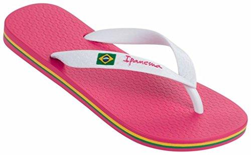 Ipanema Classic Brasil roze wit slippers meisjes
