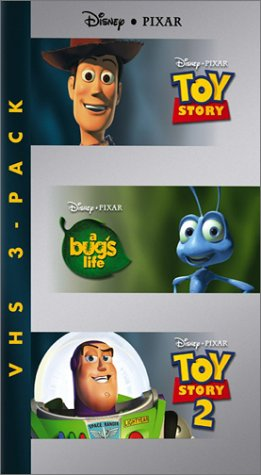 Disney Pixar Three-Pack (Toy Story/A Bug's Life/Toy Story 2) [VHS]