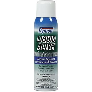 Dymon 33420 LIQUID ALIVE Carpet Cleaner/Deodorizer, 20oz, Aerosol (Case of 12)