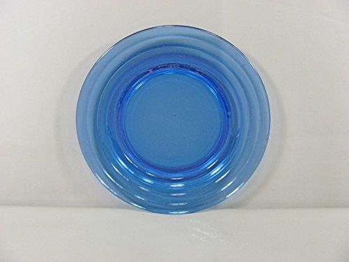 Hazel-Atlas Glass MODERNTONE-COBALT BLUE Dinner Plates(s) Multi (Hazel Atlas Glass Plates)