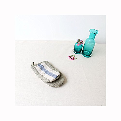 comeing-plain-cotton-stripe-simple-microwave-oven-gloves-high-temperature-baking-hot-insulated-glove