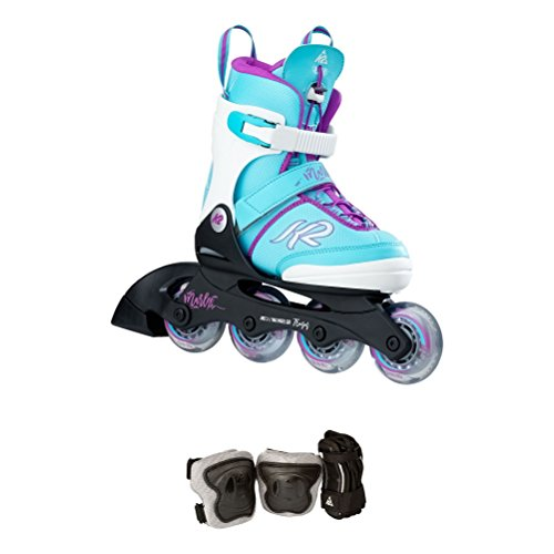 Pro Wrist Roller - K2 Skate Marlee Pro Pack, Light Blue, 11-2