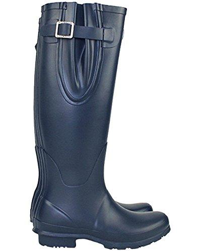 Navy Wellies Waterproof Adjustable Uk6 Our Tall Rockfish XqTx5X