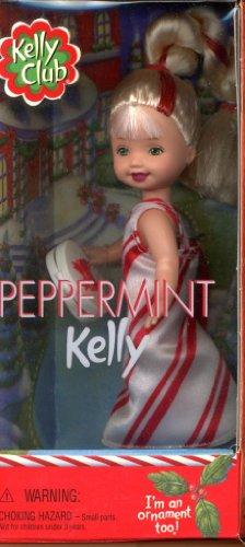 Barbie Peppermint KELLY Doll I'm an Ornament Too! (2001 Kelly Club) by Mattel