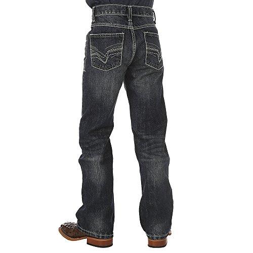 - Wrangler Boys' Big 20x Vintage Boot Cut Jean, Canyon Lake, 10 Husky
