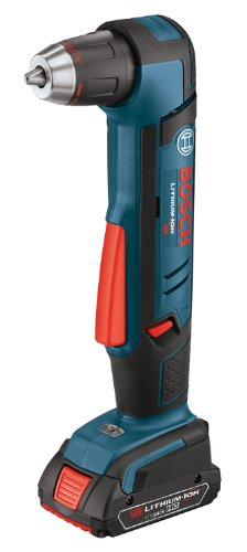 Bosch ADS181-102 18-Volt Lithium-Ion 1/2-Inch Right Angle Drill Kit with High Capacity Battery, Charger and ()