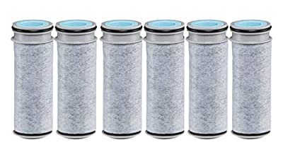Brita Stream Water Filter, Stream Pitcher Replacement Water Filter, BPA Free -6 Pack