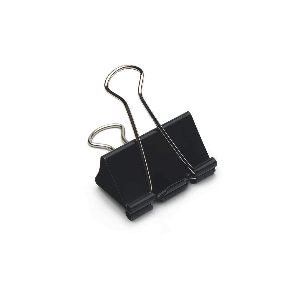 Klammern Markenqualit/ät Stahlklammern Vielzweckklammern 25mm 12 St/ück Brief-Klemmer