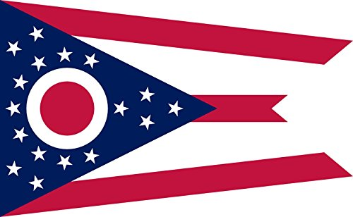 magFlags Large Flag Ohio | landscape flag | 1.35m² | 14.5sq