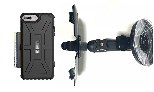 online store afaa8 63c30 Amazon.com: SlipGrip Car Holder For Apple iPhone 7 Plus Using UAG ...