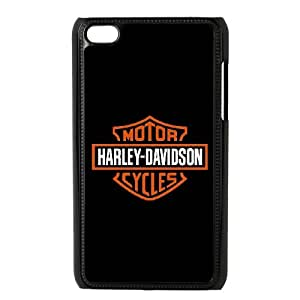 Classic Case Harley-Davidson pattern design For Ipod Touch 4 Phone Case