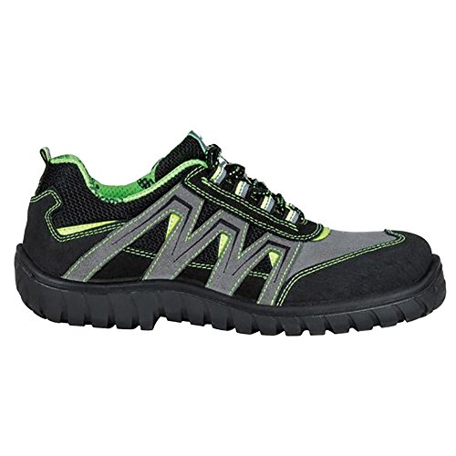 Cofra 36260–000.w43Sunset S1P SRC–zapatos de seguridad talla 43NEGRO