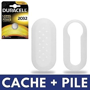 Cache blanco para caja de mando a distancia Plip - Carcasa ...