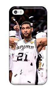 Cute Appearance Cover/tpu MZVAuTf878sEuik San Antonio Spurs Basketball Nba (56) Case For Iphone 5/5s
