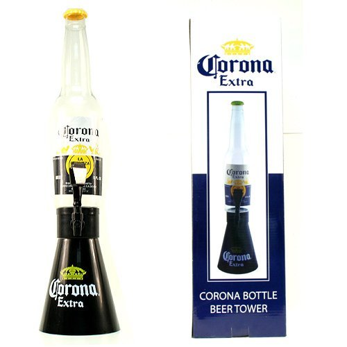 Counter Top Corona Extra Beer Bottle Tower Large 28.5'' Beer Tower Dispenser by Corona