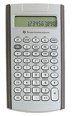 s Texas Instruments TI BA II Plus Professional Financial Calculator - LCD Battery Powered IIBAPRO//CLM//4L1//A 10 Character